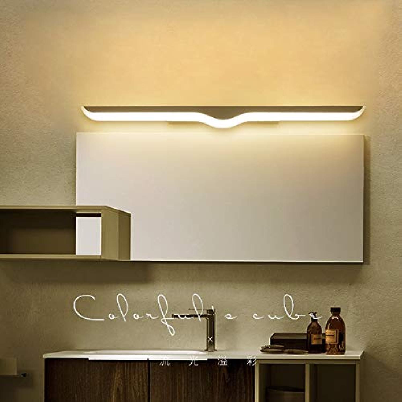 LED-Spiegelscheinwerfer Einfache moderne Badezimmer WC-Schminktisch Schaufenster Klinge Hngeleuchte Spiegel Scheinwerfer - warmes Licht (gre   40m)