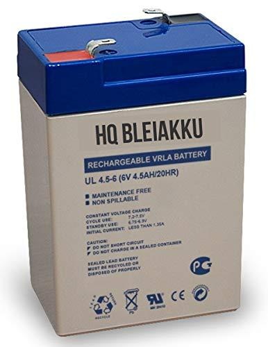 HQ Bleiakku (6V, 4Ah)