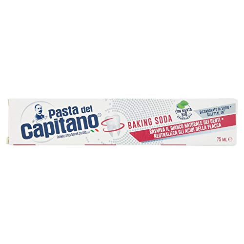 Pasta del Capitano Dentifricio Sbiancante Baking Soda, 75ml