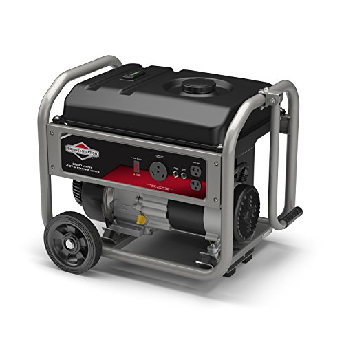 Briggs & Stratton 30676 Portable Generator with RV Outlet, 4375 Starting Watts 3500 Running Watts