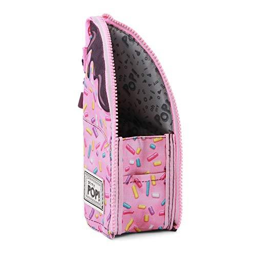 Oh My Pop Pop! Sprinkles-Vertical Pencil Case Etui, 21 cm, Pink