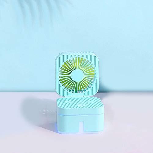 Spray umidificazione Ventilatore, Mini Usb Desktop umidificatore, silenzioso carica, Essenziale Estate Artefatto, con cavo USB, ultra-silenzioso, regolazione Tre Gear, Macaron colori ( Color : C )