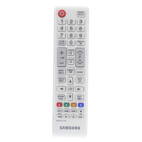 Control Remoto para Samsung UE32J4510 LED HD Smart TV, 32' HD and Built-In Wi-Fi - con Dos Pilas 121AV AAA Incluidas