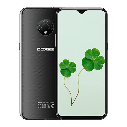 Doogee X95 Pro, Smartphone, entsperrt, 4 G, 10,0,4 GB RAM + 32 GB ROM, das Handy hat einen Akku 4350 mAh, dreifache Kamera 13 MP + 2 MP + 2 MP, Helio A20 Face ID Nior