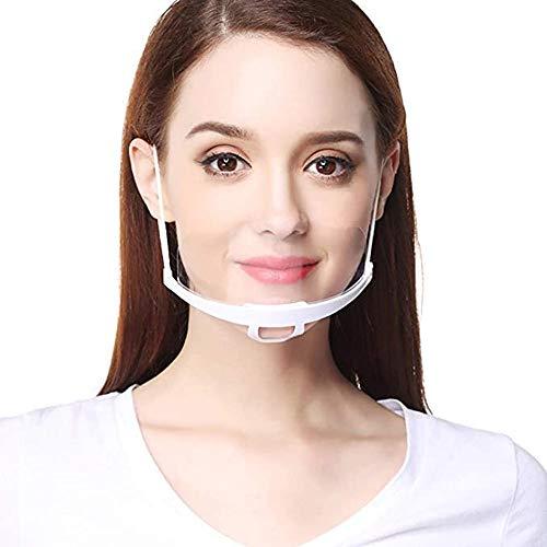 Küchengeräte Damen Shield Arbeitskleidung Herren Transparent Kunststoff Kochgeschirr für Chef Service Restaurant Unisex Transparent Plastic Face Shield for Chefs