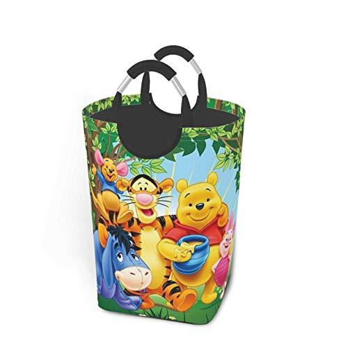 xinping AnimeLaundry cesta cesta cesta bolsa de almacenamiento de ropa sucia, impermeable, para baño, dormitorio, armario, colección de juguetes organizador de almacenamiento