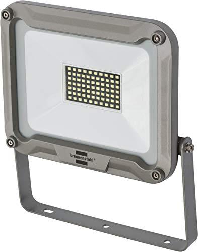 Brennenstuhl LED Strahler JARO 5000 / LED-Leuchte für außen (LED-Außenstrahler zur Wandmontage, LED-Fluter 50W aus Aluminium, IP65)