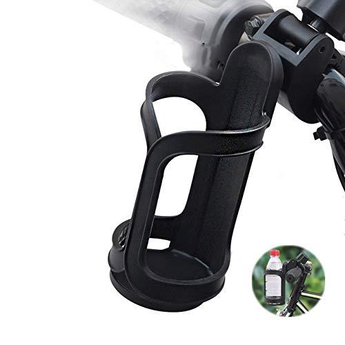 Portavasos para cochecito-Portavasos para bicicletas-Universal Portavasos Carrito Bebé Cochecito Bicicleta Portavasos universal con 360 grados de rotación para cochecitos o sillitas de bebé