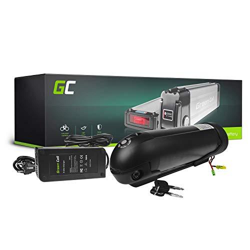 GC® E-Bike Akku 24V 11.6Ah Li-Ion Markenzellen Pedelec Bottle Batterie mit Ladegerät für Cyco Frisbee Bikes Kreidler MiFa Prophete Rex Trio Zündapp