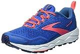 Brooks Womens Divide Running Shoe - Blue Sapphire/Blue/Coral - B - 12