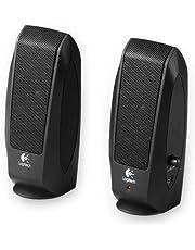 Logitech S120 2.0 Speaker, 2.3Watts