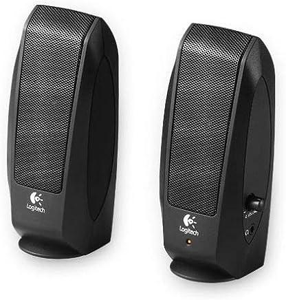 Logitech S120 980-000010 - Casse Altoparlanti Stereo 2.0, Jack 3.5mm, Controllo Volume, Presa Cuffie, 2.2W (RMS), Nero - Trova i prezzi più bassi