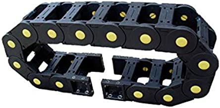WNJ-TOOL, 1pc 30x103 versterkte nylon kabel carrier drag kettingbrug type techniek nylon towline pantserketting kabelbesch...
