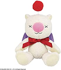 A Square Enix import Joining the lineup of Final Fantasy series plushies is the Fluffy Fluffy Moogle Fleece fabric that's soft to the touch Great for cuddling or just for display