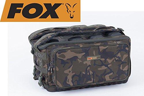 FOX Rucksack Camolite Ruckall, Anglertasche, Karpfentasche, Tackletasche, Tasche für Angelzubehör, Angeltasche, Angelrucksack