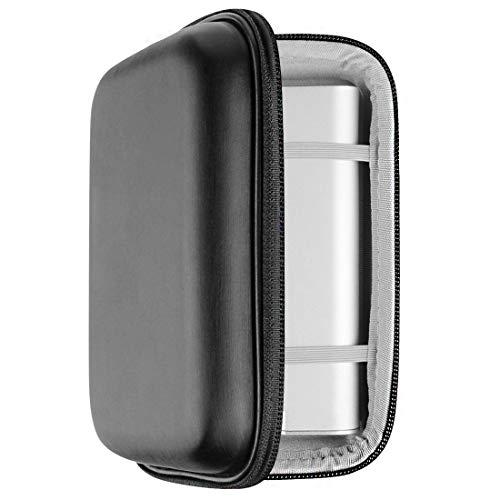 Geekria Kopfhörer Verstärker Player UltraShell Hülle für Fiio M15, M11 Pro, M11, X7 Mark II, Q5S, S0NY NW-WM1Z, NW-WM1A, PHA-2A, Shanling M6, M3, schützende Tragetasche mit Platz für Teile (schwarz)