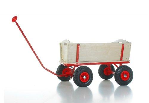 Unbekannt BBK Jöckel 7017 - Bollerwagen mit Bremse und PU-Reifen