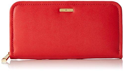 Stella Maris STMB612 02 - Cartera billetera de fiesta hecha de cuero con un diamante cartera de mano, color rojo
