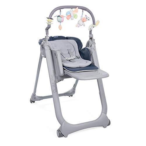 Chicco Polly Magic Relax - Trona/hamaca compacta con barra