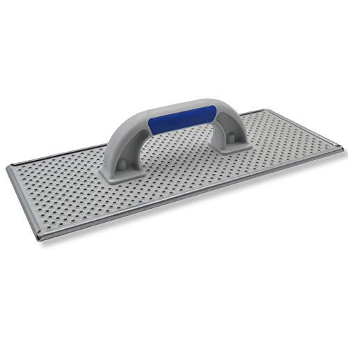 DEWEPRO® WDVS + Porenbeton Schleifbrett - Raspelbrett mit verzinktem Stahlblech-Raspelbelag - 380x160mm - Egalisierungsbrett - Handschleifer