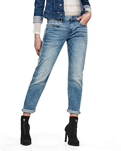 G-STAR RAW Damen Kate Boyfriend Jeans, Lt Indigo Aged C052-8436, 28W / 30L