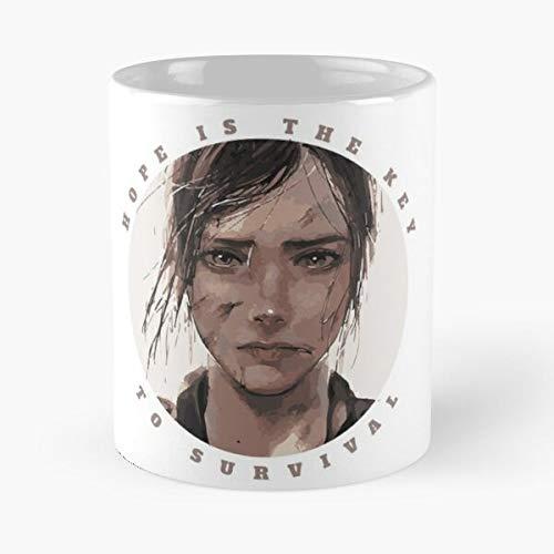 Us Last Game of Dog Portrait Remastered Naughty Hope Joel Survivor Best 11 oz Kaffeebecher - Nespresso Tassen Kaffee Motive
