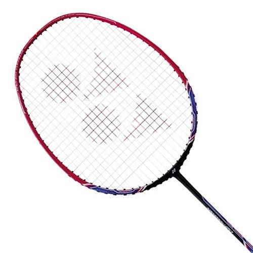 YONEX Nanoray 20 Badminton Pre-Strung Racket (Black/Red)(3G5)