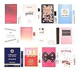 12 Women's Perfume Sample Vials Set
