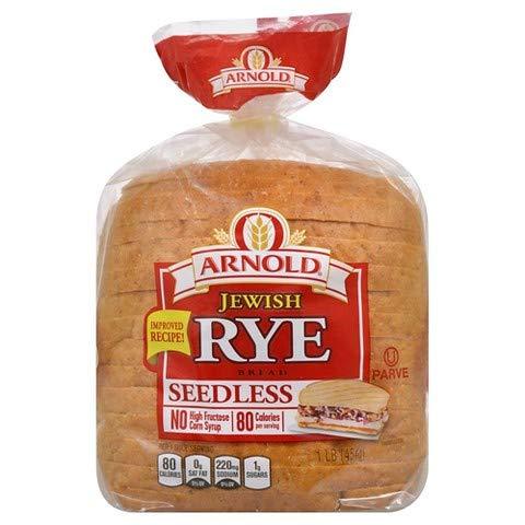Arnold Seedless Jewish Rye - 2 Loaves