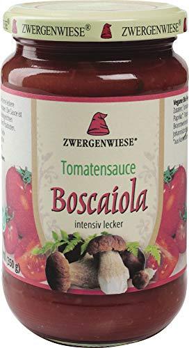 Zwergenwiese Bio Tomatensauce Boscaiola (2 x 330 ml)