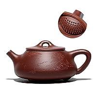 La théière est en céramique, car ce matériau est le plus approprié pour le brassage de grandes et petites feuilles ou de tisane,la céramique à feu vif peut parfaitement résister à des températures élevées et peut être utilisée pendant longtemps sans ...