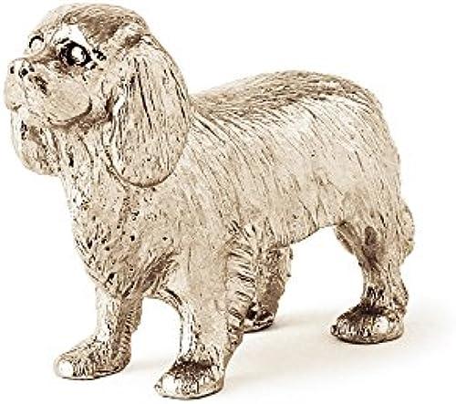 Cavalier dog figure made in UK (japan import)