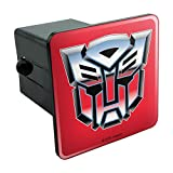 Graphics and More Transformers Autobot Symbol Retro Tow Trailer Hitch Cover Plug Insert