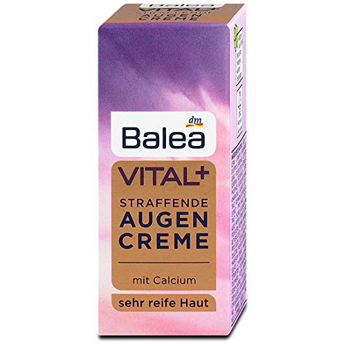 Balea Vital+ straffende Augencreme, 15 ml