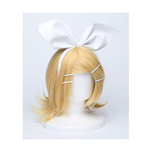 [Cosplay] wig Kagamine Rin wind WIG costume accessory tool VOCALOID Vocaloid blonde hair ornaments with (japan import)