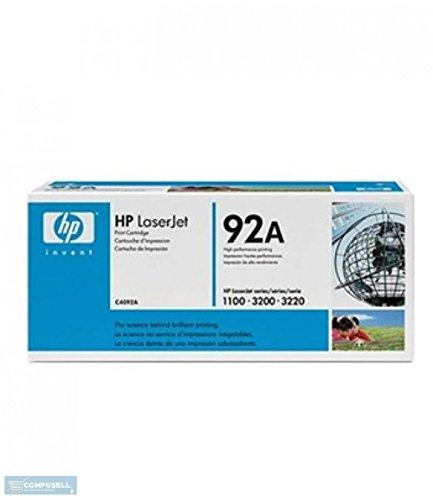 tóner 92a fabricante HP