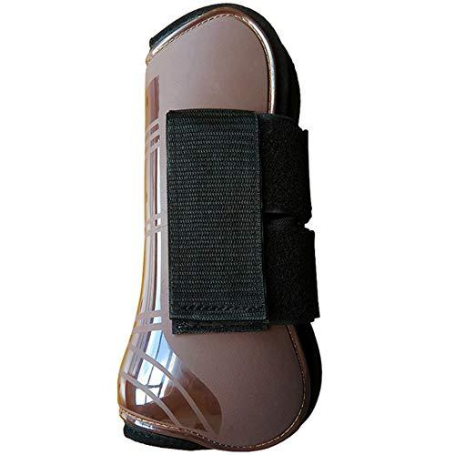 Faderr 4 Stks Paard Vliegen Bescherming Beenbescherming, Verstelbare Non-Collapsing Beschermende Paard Vlieglaarzen Been Guard Paardensport Apparatuur Beschermende Gear