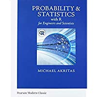 Probability & Statistics with R for Engineers and Scientists (Classic Version) (Pearson Modern Classics for Advanced Statistics Series)【洋書】 [並行輸入品]