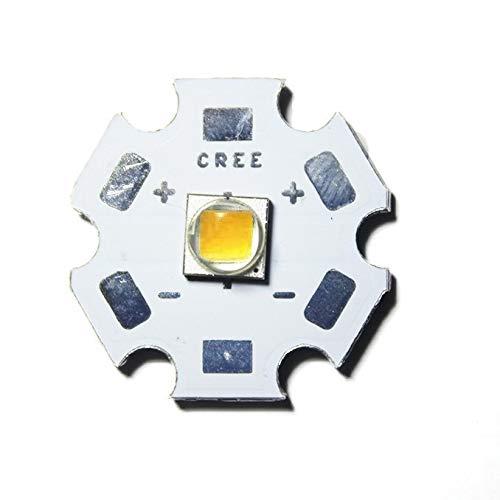10W CREE Single XML LED T6 High Power LEDs weißer Chip mit 20 mm PCB für DIY Warmweiß