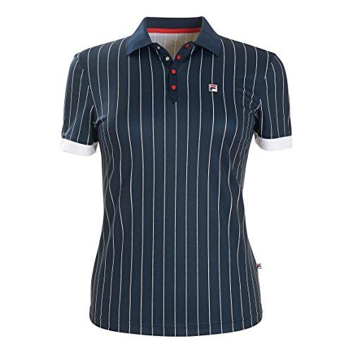 Fila Pauline - Camiseta de tenis para mujer (talla XS), color azul