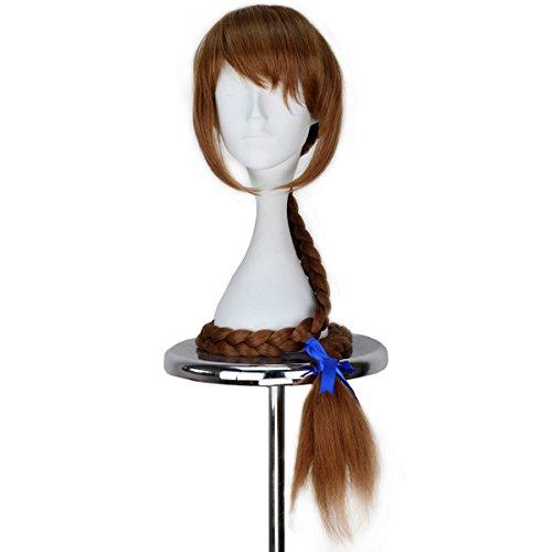 Miss U Hair Fawn Wig Synthetic Extra Long Braid Wig Handmade Anime Cosplay Wig