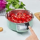 YZSHOUSE Báscula de cocina de alta precisión Oksmsa, escala electrónica de 0.01G, mini escala de hornear de alimentos para el hogar con función cero