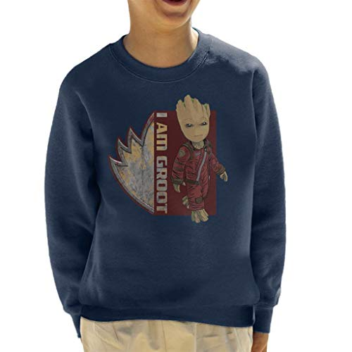 Marvel Guardians of The Galaxy I Am Ravagers Baby Groot Kid's Sweatshirt