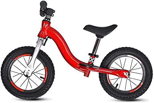 DRAGDS Bicicleta de Equilibrio, Bicicleta de Balance de 12 Pulgadas, Bicicleta de Balance de No-Pedal Ligero para 2 3 4 5 6 Años de Edad, Niños Y Niños Pequeños, Aleación de Aluminio para Niños Bicic