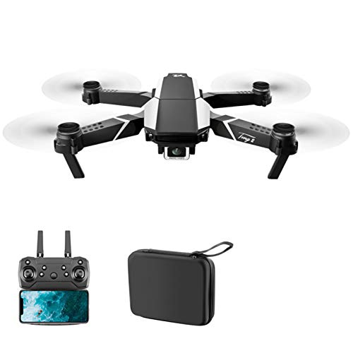 S62 Drone with Dual Camera for Adults, WiFi FPV Drone with 4K HD Camera, Foldable Drone with Voice Control, RC Quadcopter with Gravity Sensor, Gesture Selfie, Headless Mode Illinois