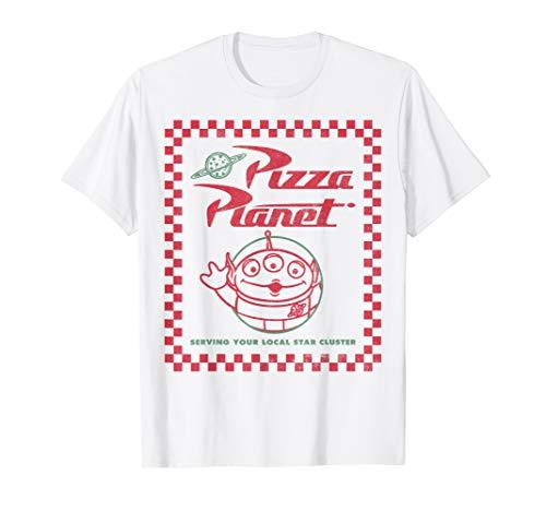 Disney Pixar Toy Story Alien Pizza Planet Box Art T-Shirt