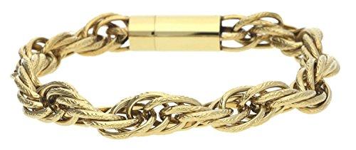Police Herren Armband Edelstahl Gold TEMPTATION PJ25491BSG-02-S
