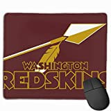 MOOPZEEA Washington Redskins Cool Mousepad Gaming Mouse Pad Waterproof Keyboard Pad Thick Extended Mat for Office/Home&Gamer