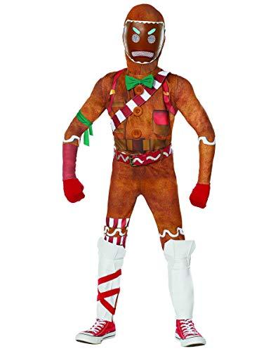 Spirit Halloween Kids Merry Marauder Fortnite Costume   Officially Licensed - XL