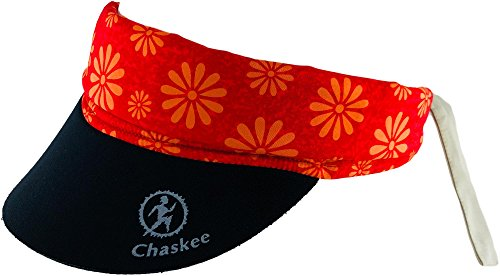 Chaskee Chaskee Visor Snap Cap Happy Flowers, One Size, rot